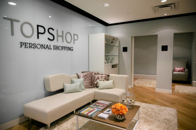 Topshop Vancouver personal shopping