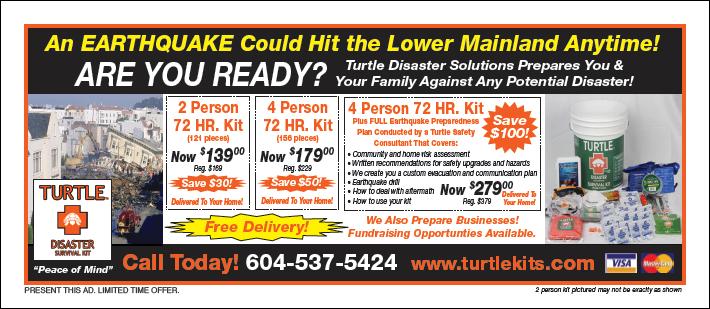 Turtle Disaster Kit