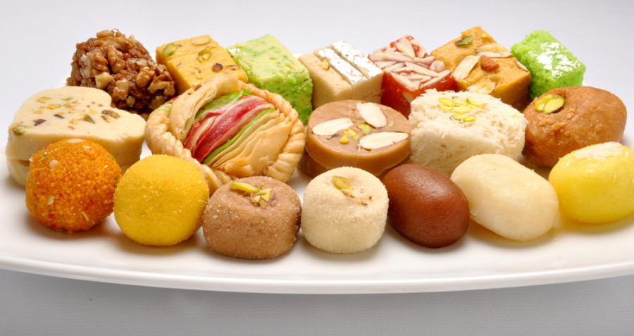 Image: Indian sweets / Shutterstock