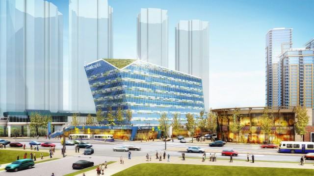 COAST CAPITAL SAVINGS CREDIT UNION - Coast Capital's new HQ
