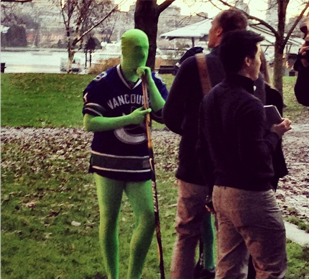 Green Men Road Hockey