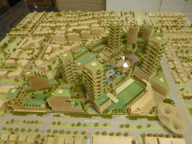 Oakridge Centre residential towers
