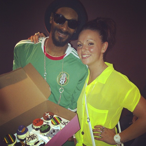Snoop Dogg and Owner Sheila