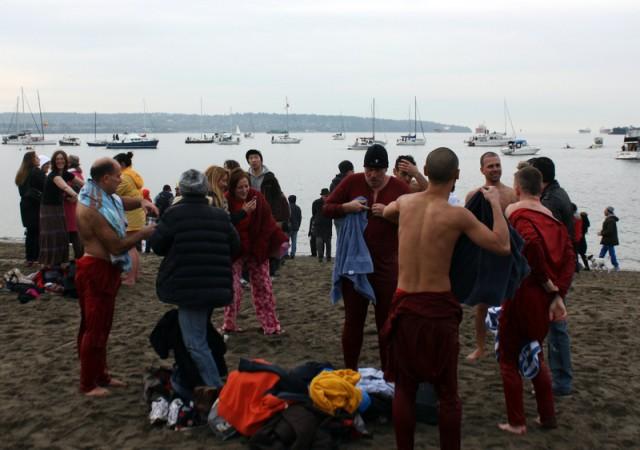 Vancouver Polar Bear Swim 2