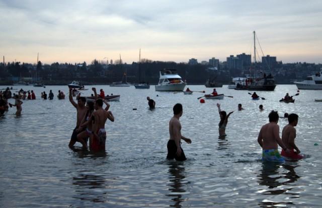 Vancouver Polar Bear Swim 2013