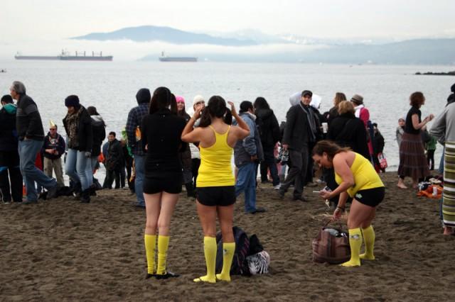 Vancouver Polar Bear Swim 3
