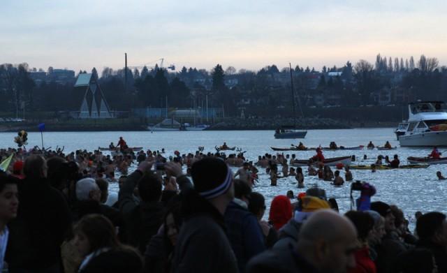 Vancouver Polar Bear Swim 5