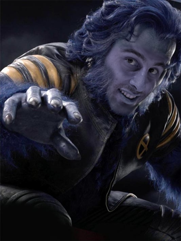 Roberto Luongo as Beast
