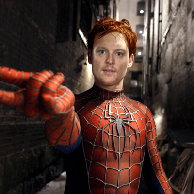 Cory Schneider as Spiderman