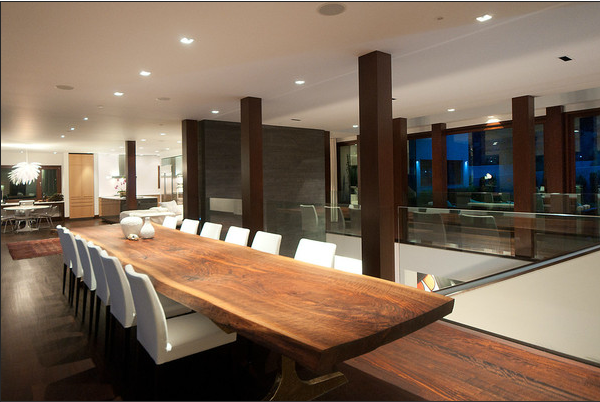 Dining Room Vancouver Mansion