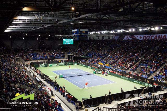 UBC Davis Cup 2013 - Canada vs. Spain - Day 1