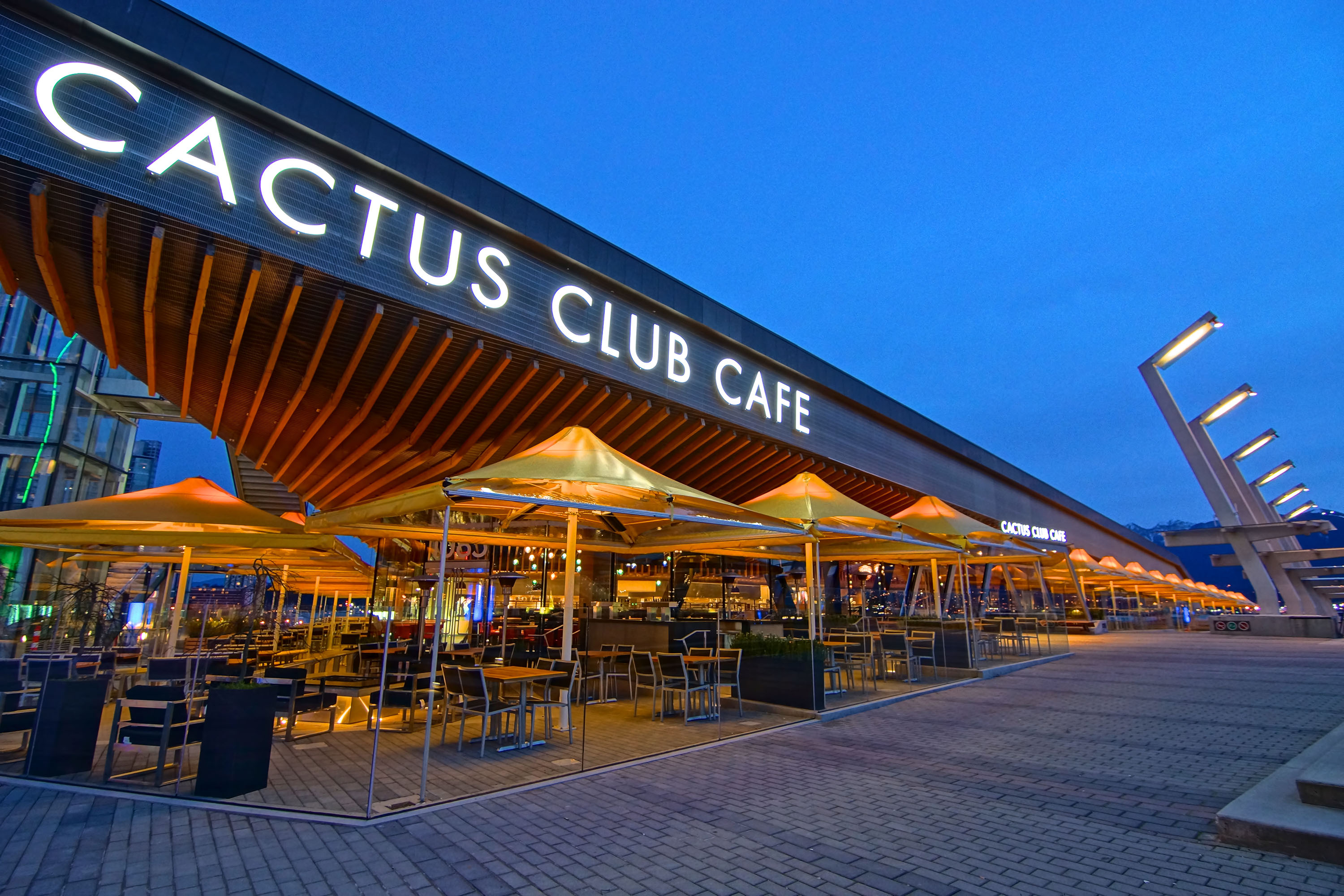 cactus club coal harbour opens today daily hive vancouver. Black Bedroom Furniture Sets. Home Design Ideas