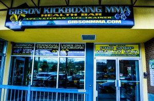 Gibson's Kickboxing and MMA Exterior Shot