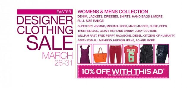 designer clothing sample sale vancouver