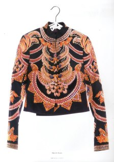Manish Arora hand beaded jacket available at The Room