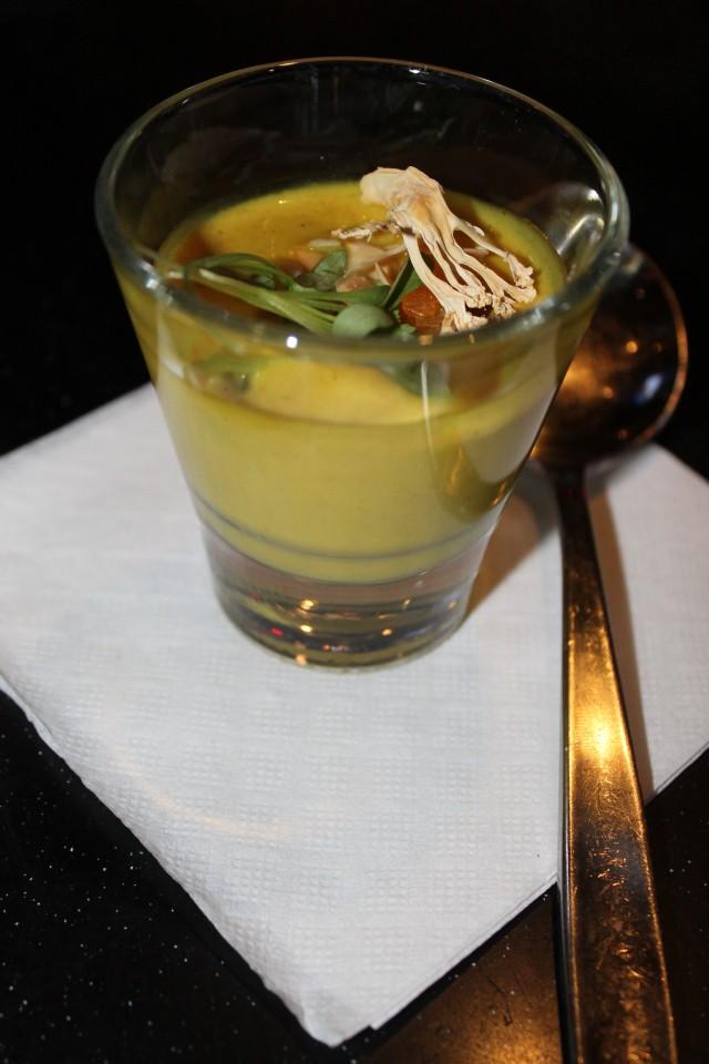 Matt Stowe's Curried Cauliflower Soup