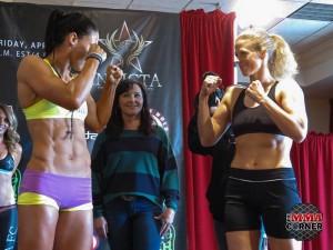 Julia Budd Invicta Weigh Ins Photo 1