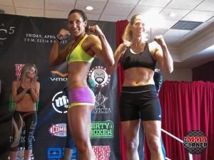 Julia Budd Invicta Weigh Ins Photo 2