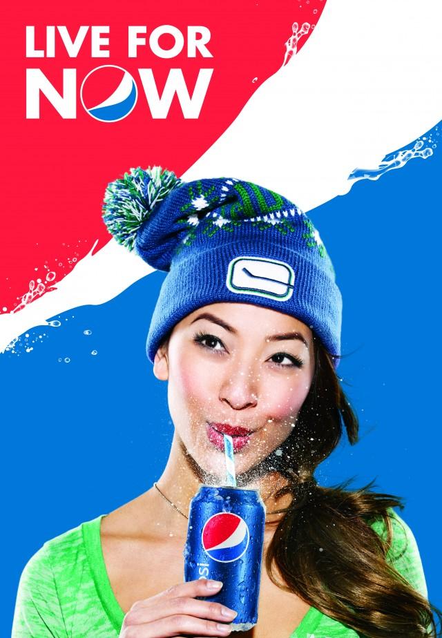 Amie Nguyen Canucks Pepsi