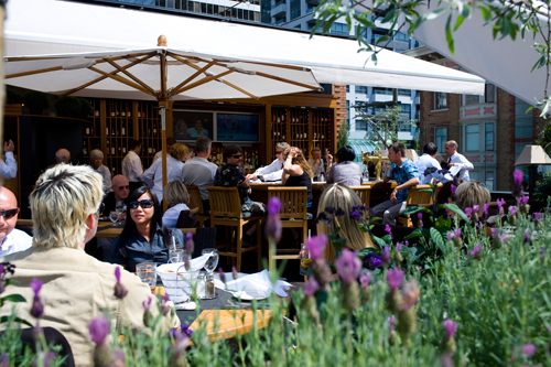 Top Ten patios of Vancouver