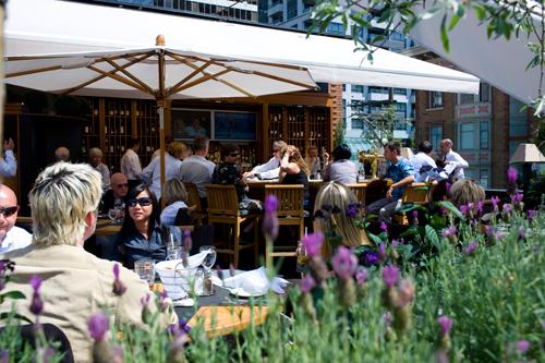 Top Ten patios of Vancouver