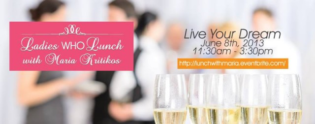 Ladies Who Lunch with Maria Kritikos