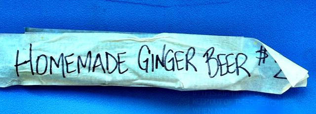 Homemade Ginger Beer - The Reef Runner
