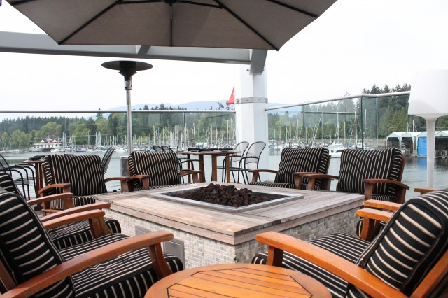 patios in coal harbour