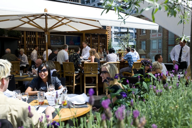 best patios in downtown vancouver