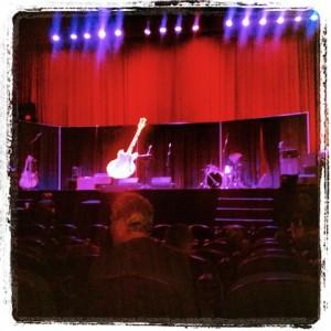 Rio Theatre guitar stage
