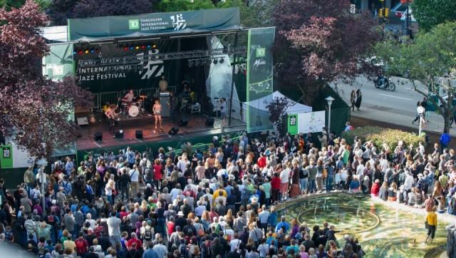 Georgia Stage Vancouver International Jazz Festival