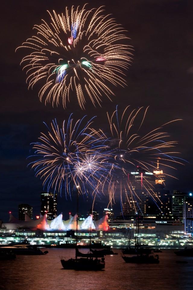 Fireworks Canada Day