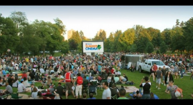 Free Outdoor Movies Vancouver