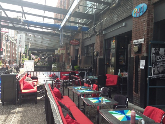 phat patio yaletown