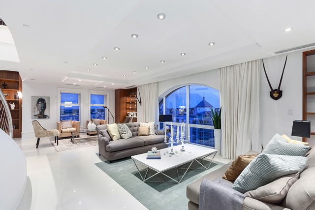 The Grace Penthouse Living Room