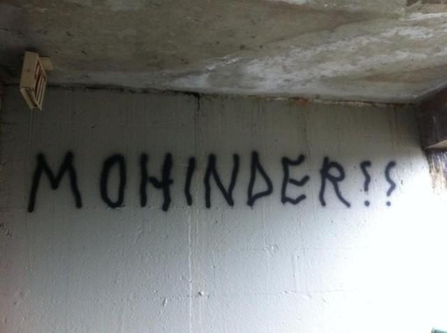 Mohinder Vancouver Graffiti tag