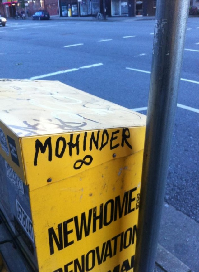 Mohinder Vancouver tag