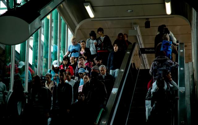SkyTrain Metrotown Station