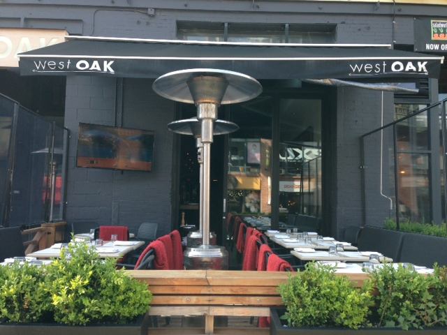 west oak patio