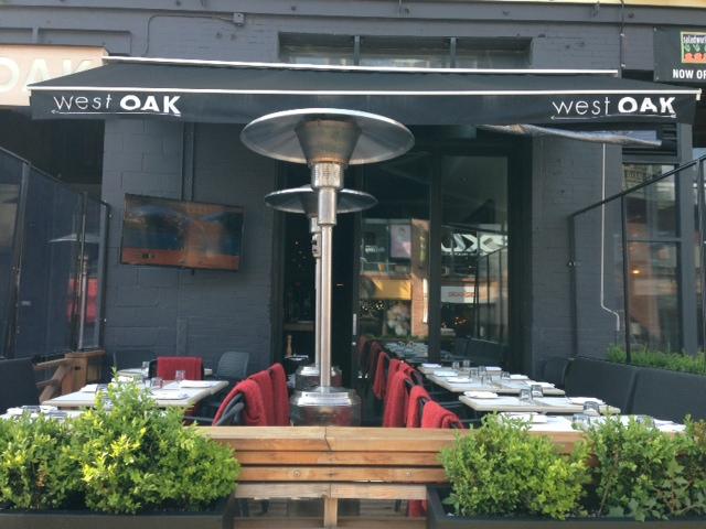west oak patio