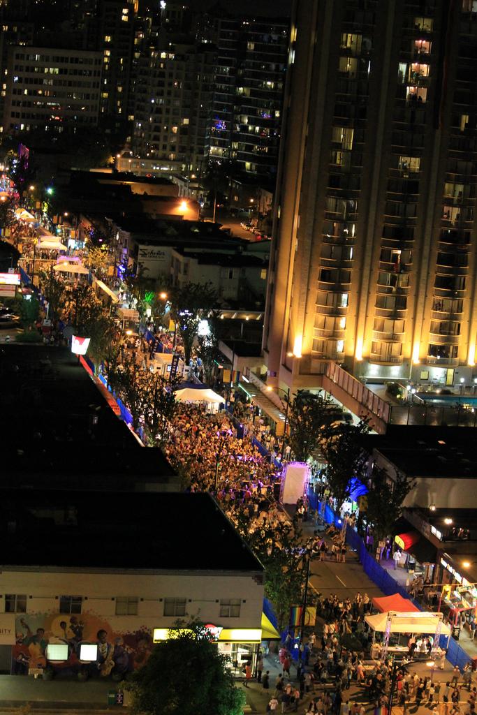 Davie Street Party 2013 Gay Pride