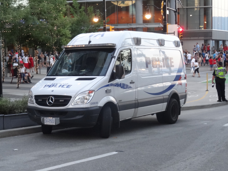 Vancouver Police Mercedes