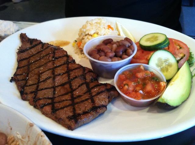 San Salvador Restaurant Menu
