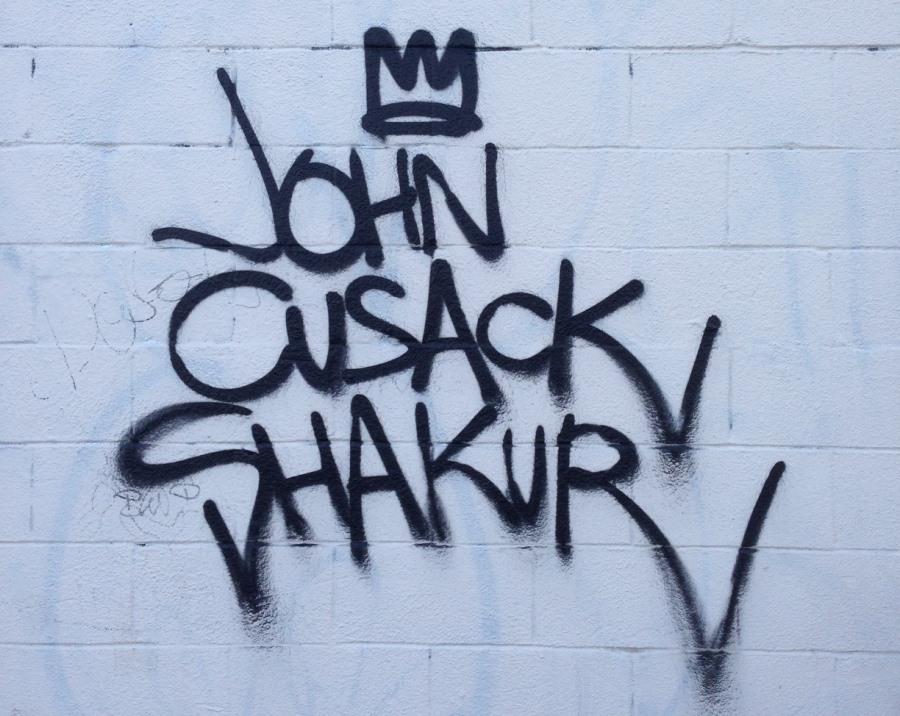 John Cusack Graffiti Vancouver