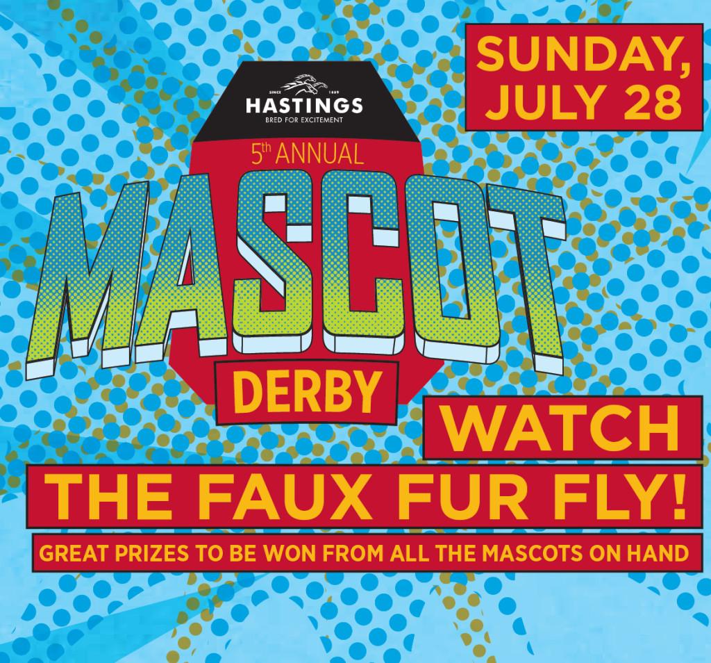 Hastings Racecourse Mascot Derby 2013