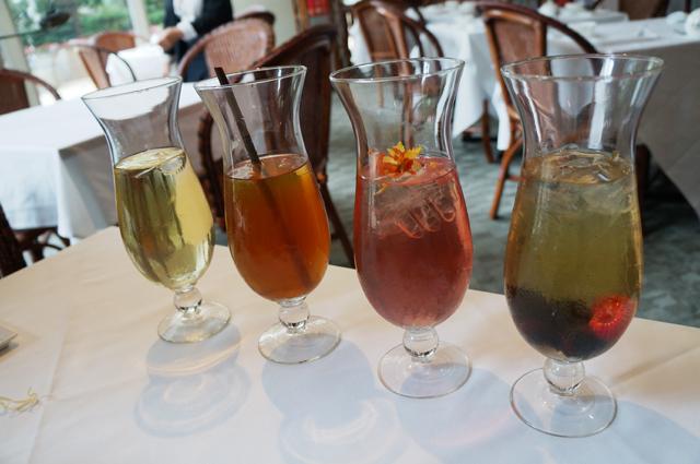 The Urban Tea merchant french iced teas glasses