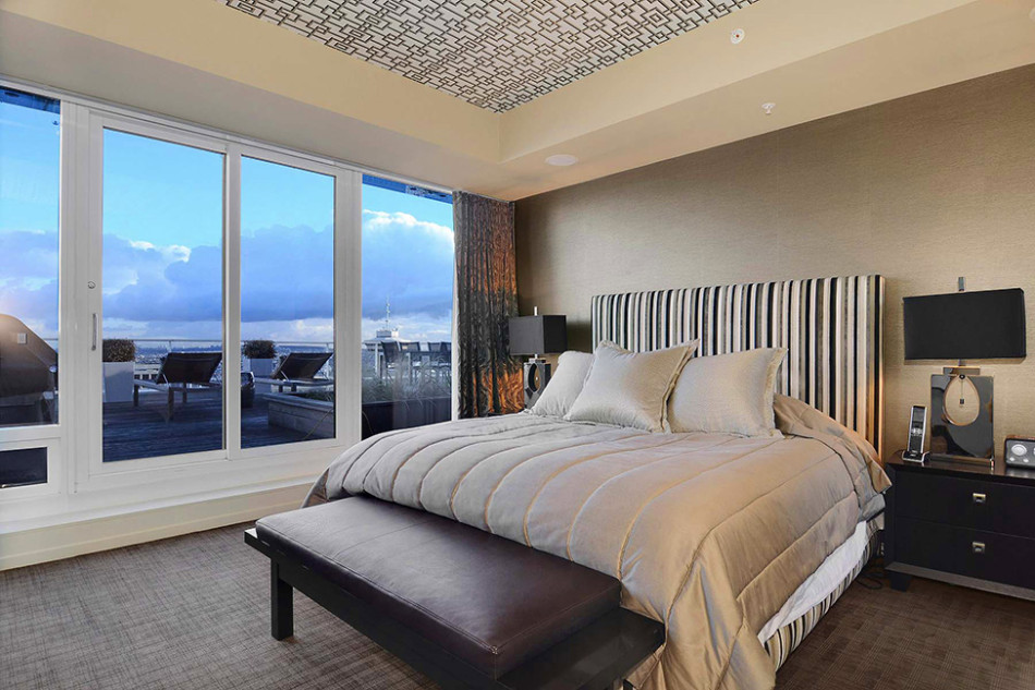 Vancouver penthouse bedroom 2