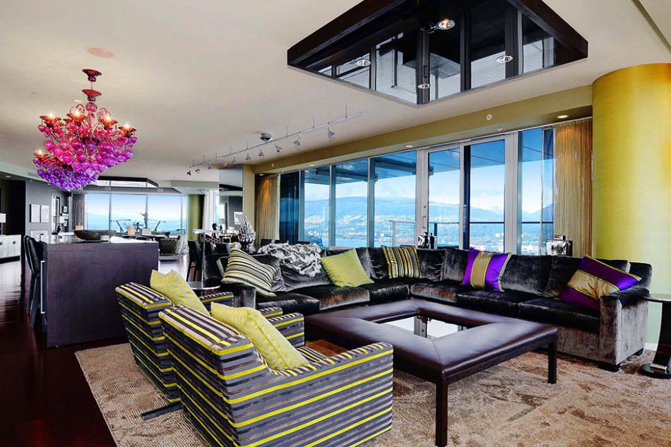 Vancouver Penthouse Main Floor