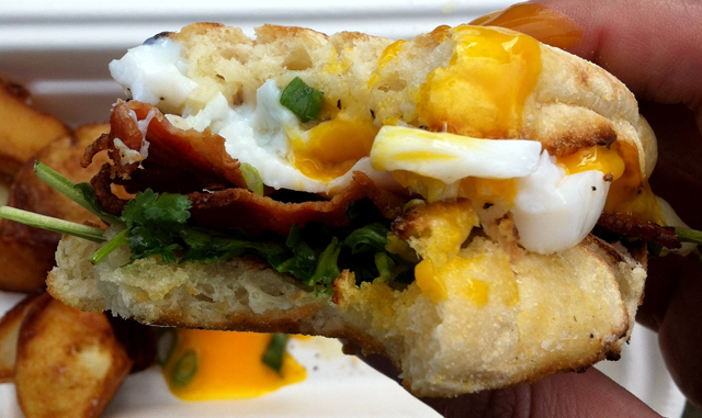 Yolk's Breakfast Top 10 Vancouver Food Carts