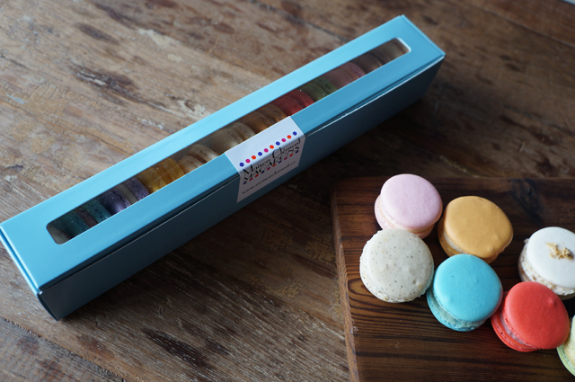 maison clement boxed macarons